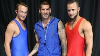 Javier Cruz, Caleb Troy, Derek Reed – The Sexy Older Wrestling Coach