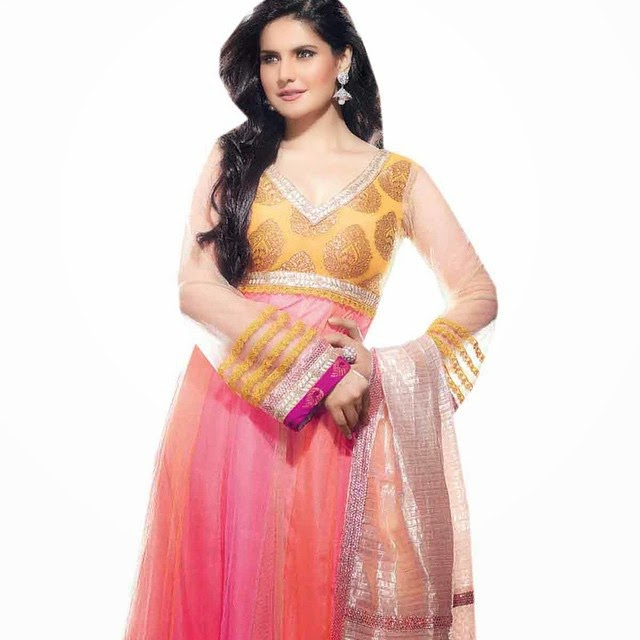 zarine khan , designer , ana rk ali , ana rk ali ,suit salwar ,kameez salwar , salwar ,suit on-line shopping , z ohr a ,, Zarine Khan Hot Pics From Indian Clothing Catalogue