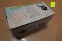 Verpackung: KYLIN SPORT Bauchtrainer Ab Roller Bauchmuskeltrainer Dual Wheel Ab-Wheel mit Knie Pad
