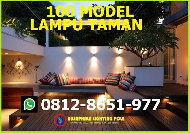 100 CONTOH MODEL LAMPU TAMAN