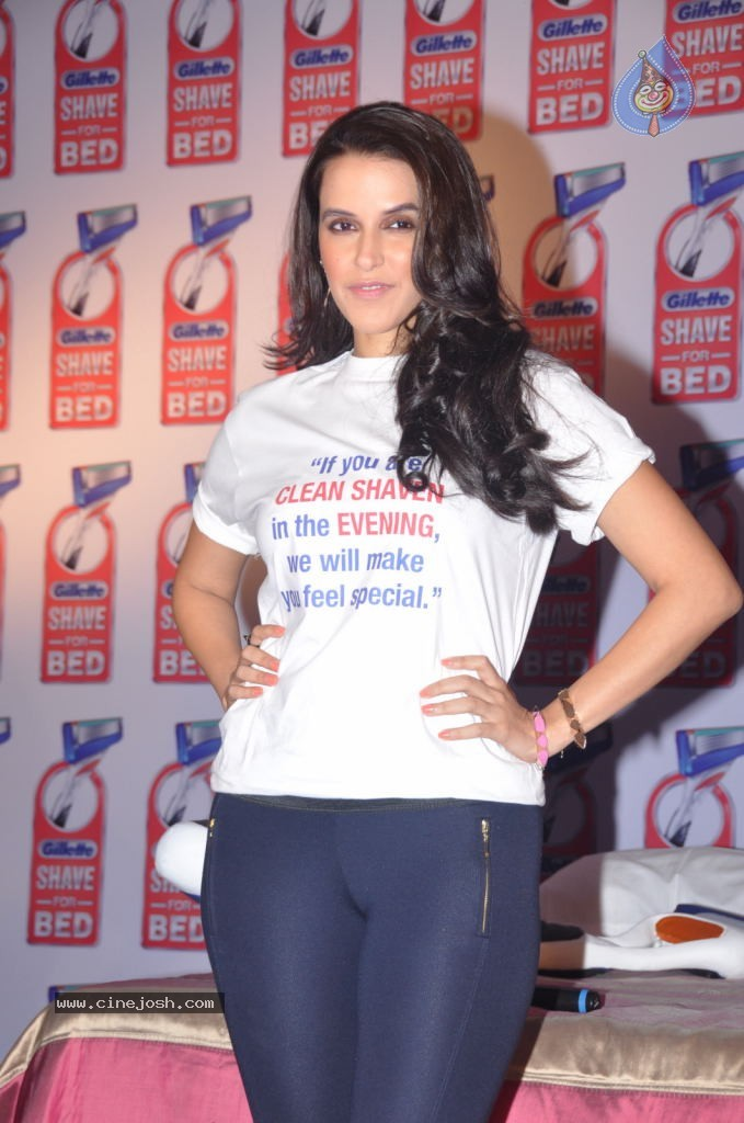 Neha Dhupia In Tight Pants - Gillette Shave Or Crave Event -2520