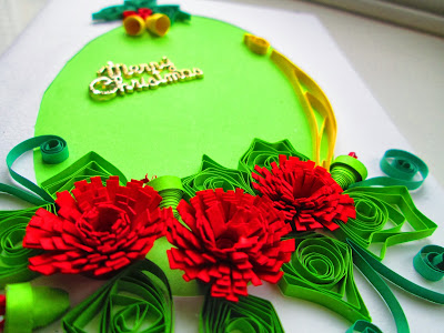 Quilling- Christmas cards
