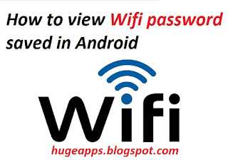how to view wifi password