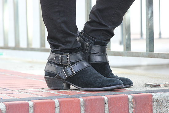 Black Heeled Sam Edelman Booties | Will Bake for Shoes
