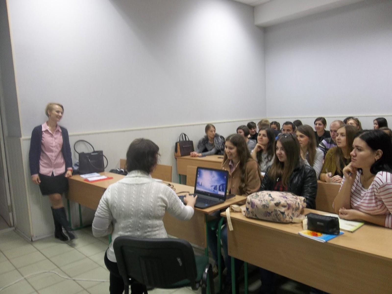 Встреча студентов специальности «Экономическая кибернетика» с представителями ГК «Фактор»