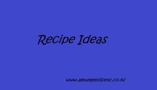 """""""amummyslifenz"""" """"recipe"""""""