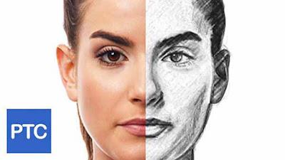 Tutorial Cara Membuat Lukisan Pensil Photoshop