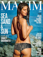 Emily DiDonato on the cover of MAXIM, August 2015