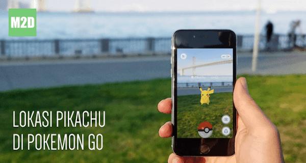 Pikachu di Pokemon Go