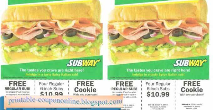 printable subway coupons 2019