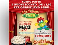 Logo ''Entra a Gardaland con Coca-Cola e UCI 2019'': ricevi subito 2 buoni da 8€ e vinci un soggiorno per 4 persone