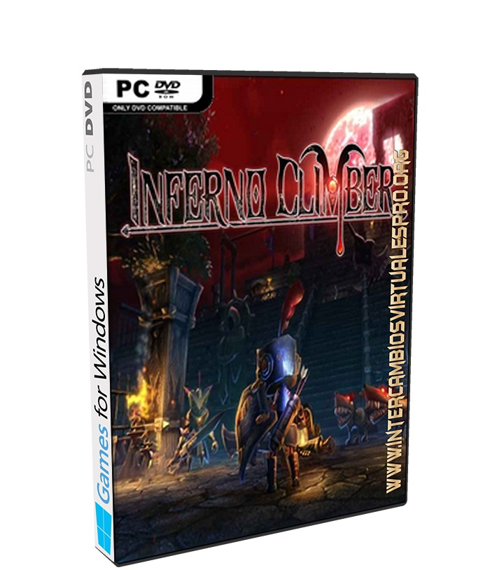 INFERNO CLIMBER poster box cover