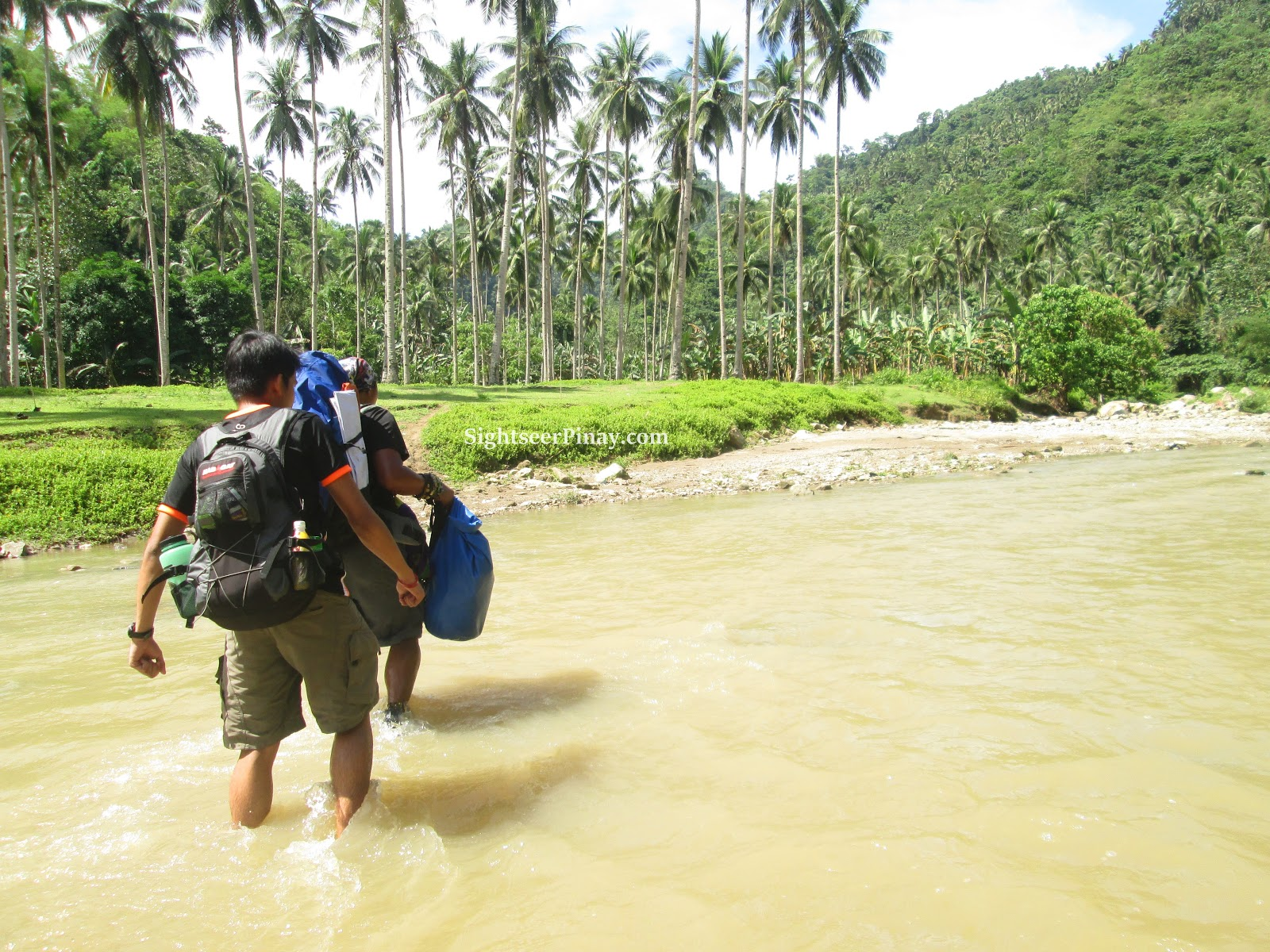 River Crossing heading to Dodiongan Falls, Iligan City