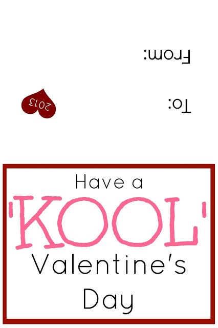 Bags Kool Aid Valentines