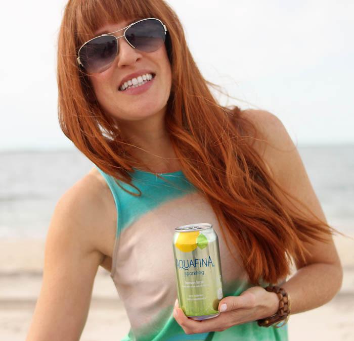Beach Break with Aquafina Sparkling
