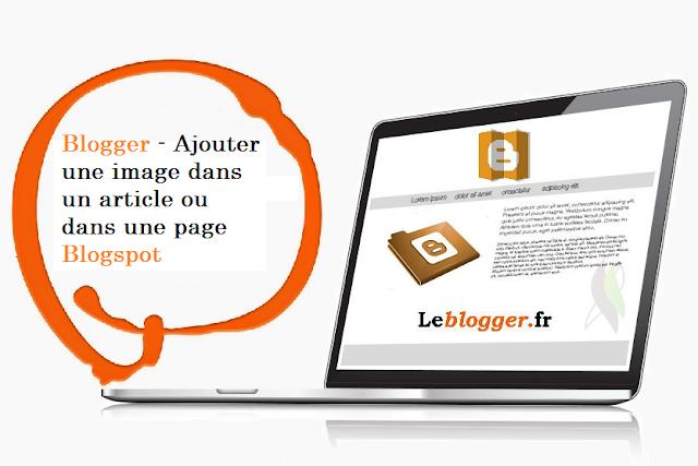 Comment ajouter une image / vignette spécifique dans Blogger?