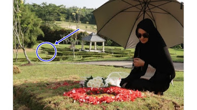 Katakan Hal Ini Saat Kembali Kunjungi Makam Sang Suami, Ririn Ekawati Buat Netizen Ikut Sedih!