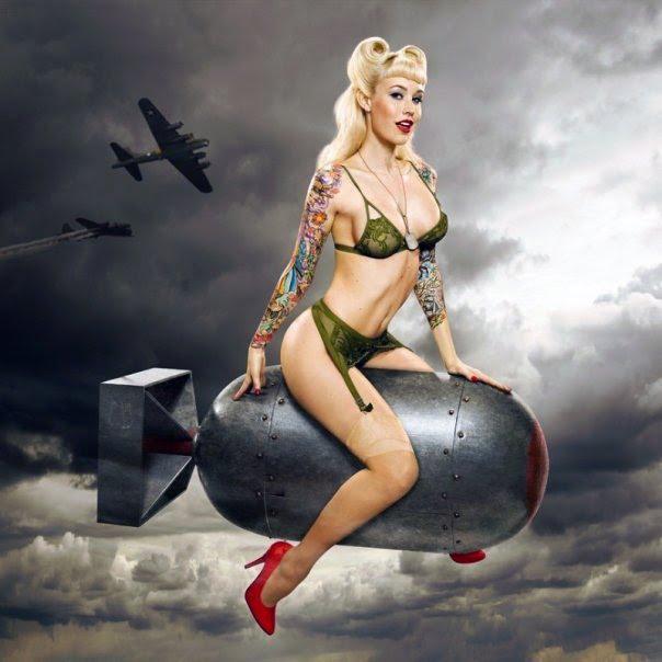 Sexy blonde atomic bomb singer 6