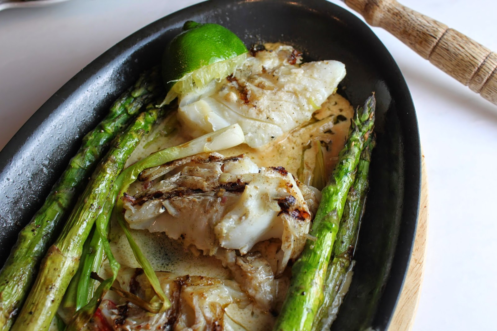 Fat and Happy Blog: Spicy Lime Coconut Grilled Cod