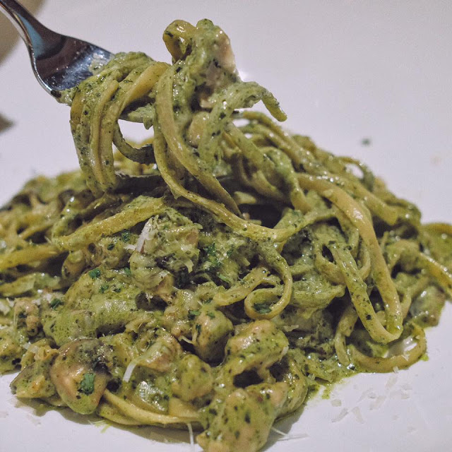 Green Tea Fettucine