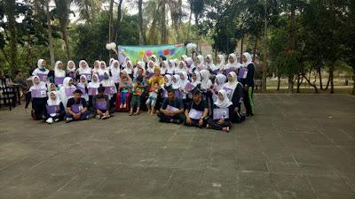 The First Year Students of English Department Run Fun Gathering in Griya Kebun 38 B