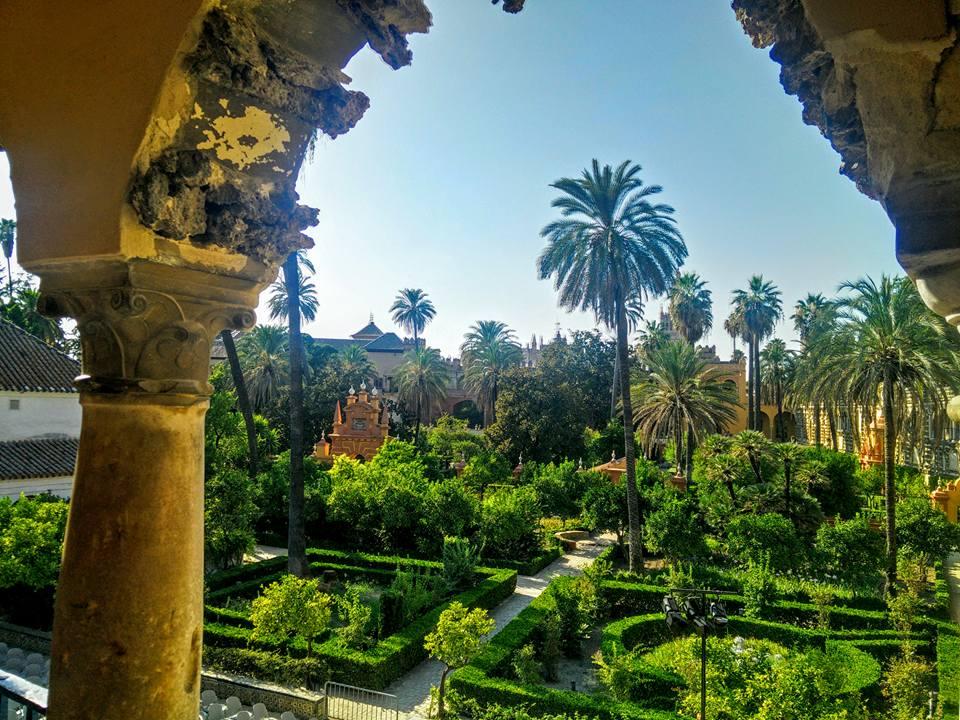Espange Séville Sevilla Andalousie alcazar