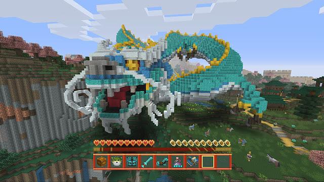 Minecraft presenta un pack sobre la mitología china