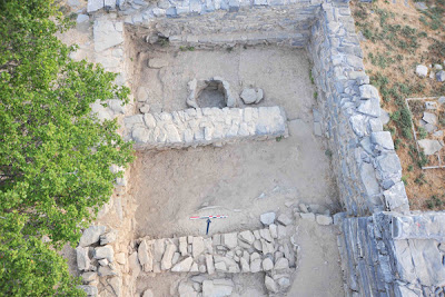 The Minoan palace at Zominthos in Crete