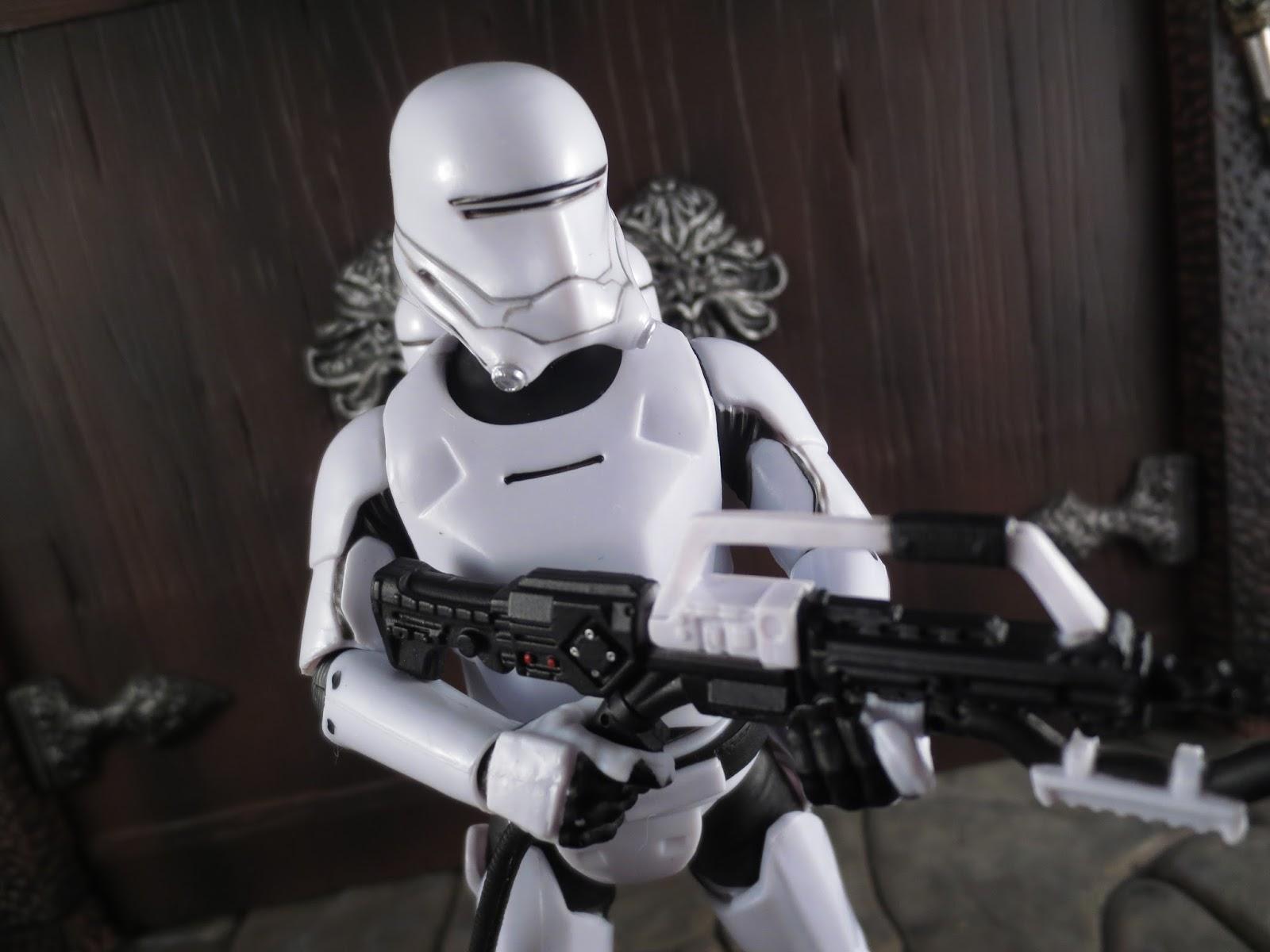 "Hasbro Star Wars Force Awakens FIRST ORDER FLAMETROOPER Loose 3.75/"" Figure 2015"
