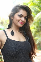 Aswini in lovely Deep Neck Sleeveless Black Dress Spicy Pics ~  Exclusive 37.JPG