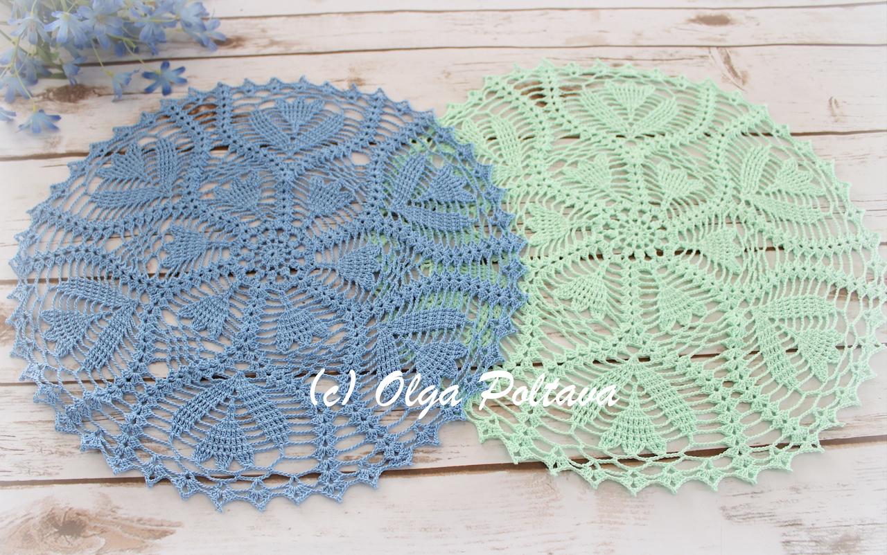 Lacy Crochet: Spring Blooms Doily, Free Crochet Pattern