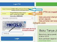 Cara Cek Info PTK/GTK Semester 2 Tahun Ajar 2016/2017