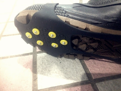 靴底のスパイク