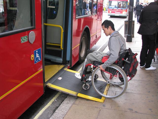 Deficientes físicos em Londres