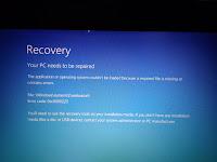 "Cara Mengatasi ""Your PC needs to be repaired Error code: 0xc0000225"" di Laptop"