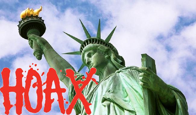 Η Νέα Τάξη τρομοκρατεί: Η «υπερθέρμανση» θα καταστρέψει το άγαλμα της ελευθερίας