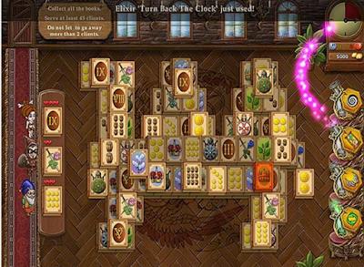 魔法書店:麻將(Magic Bookshop:Mahjong),很有意思又特別的益智消除!