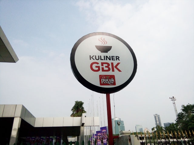 Kuliner GBK (Gelora Bung Karno) - Not Outside Food and Drink Allowed