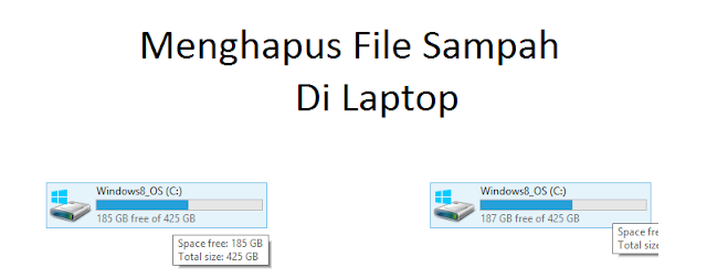 laptop kebanyakan sampah file