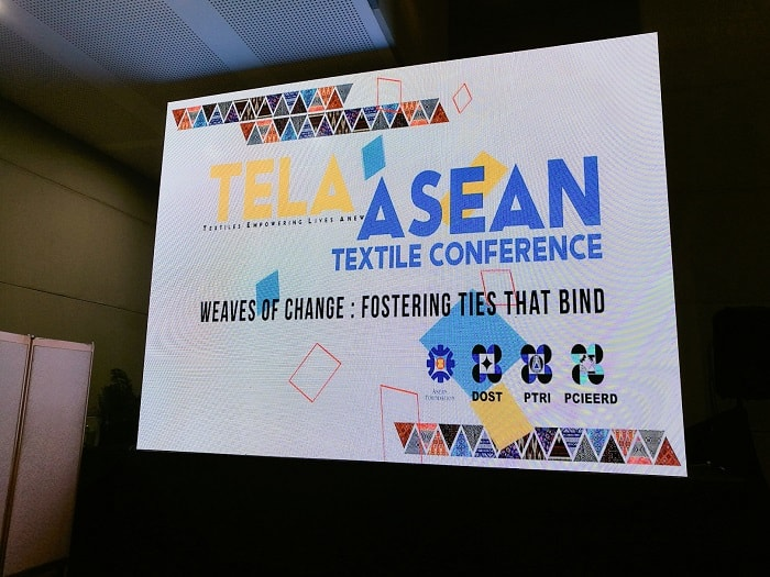 Oriental Textiles and Fashion Show at TELA ASEAN