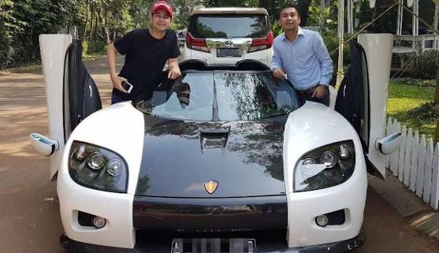 Pajak Mobil Koenigsegg Tembus 6 Miliar, Ini Klarifikasi Raffi Ahmad