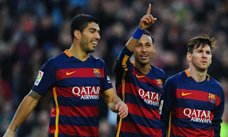 Champion Liga : Barcelona Hantam Arsenal 3-1