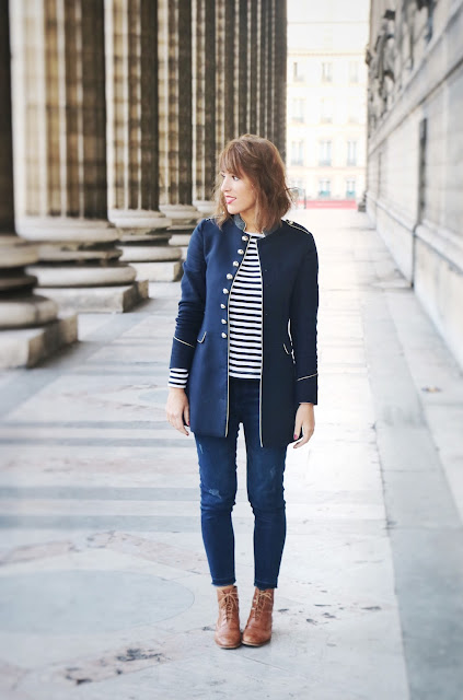 blog mode militaire marin