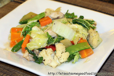 Chopsuey - Healthy Chicken Chopsuey Recipe