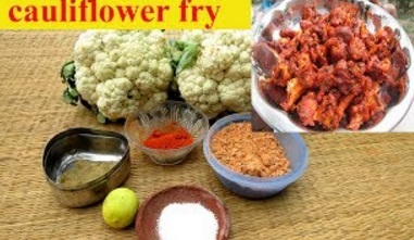Tasty Cauliflower Chily Fry Recipe | Prepared By Mummy | VILLAGE FOOD