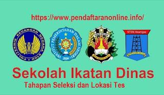 Tahapan Seleksi dan Lokasi Tes Sekolah Ikatan Dinas 2018/2019