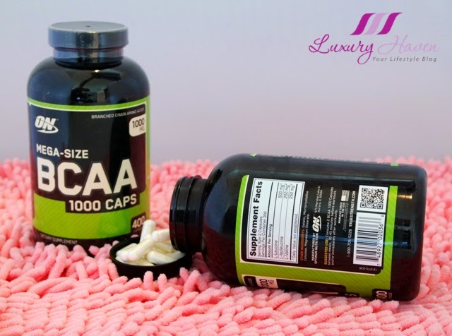 vitacost optimum nutrition bcaa blogger review