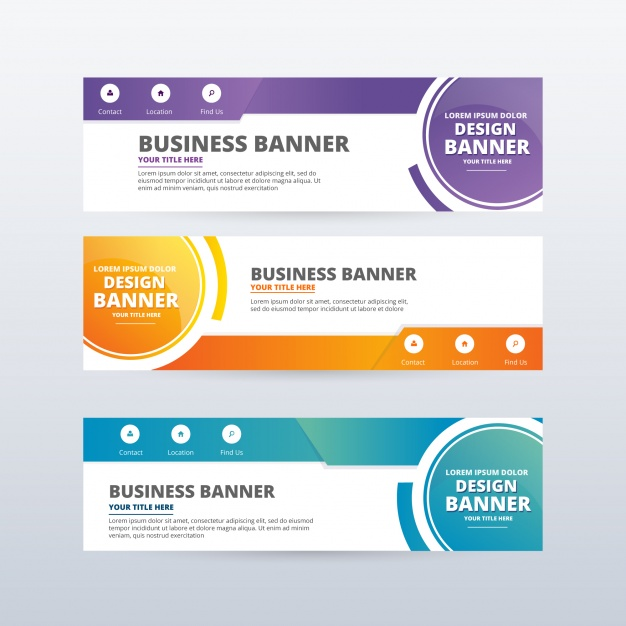 50+ Free Banner Templates - PSD, Vector - Graphic Design Resources
