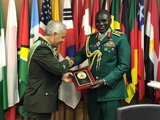 Buratai, Chief of army staff, News, Brazil, Order of merit, Army, Military,