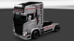 Scania RJL Hip-Hop paint job